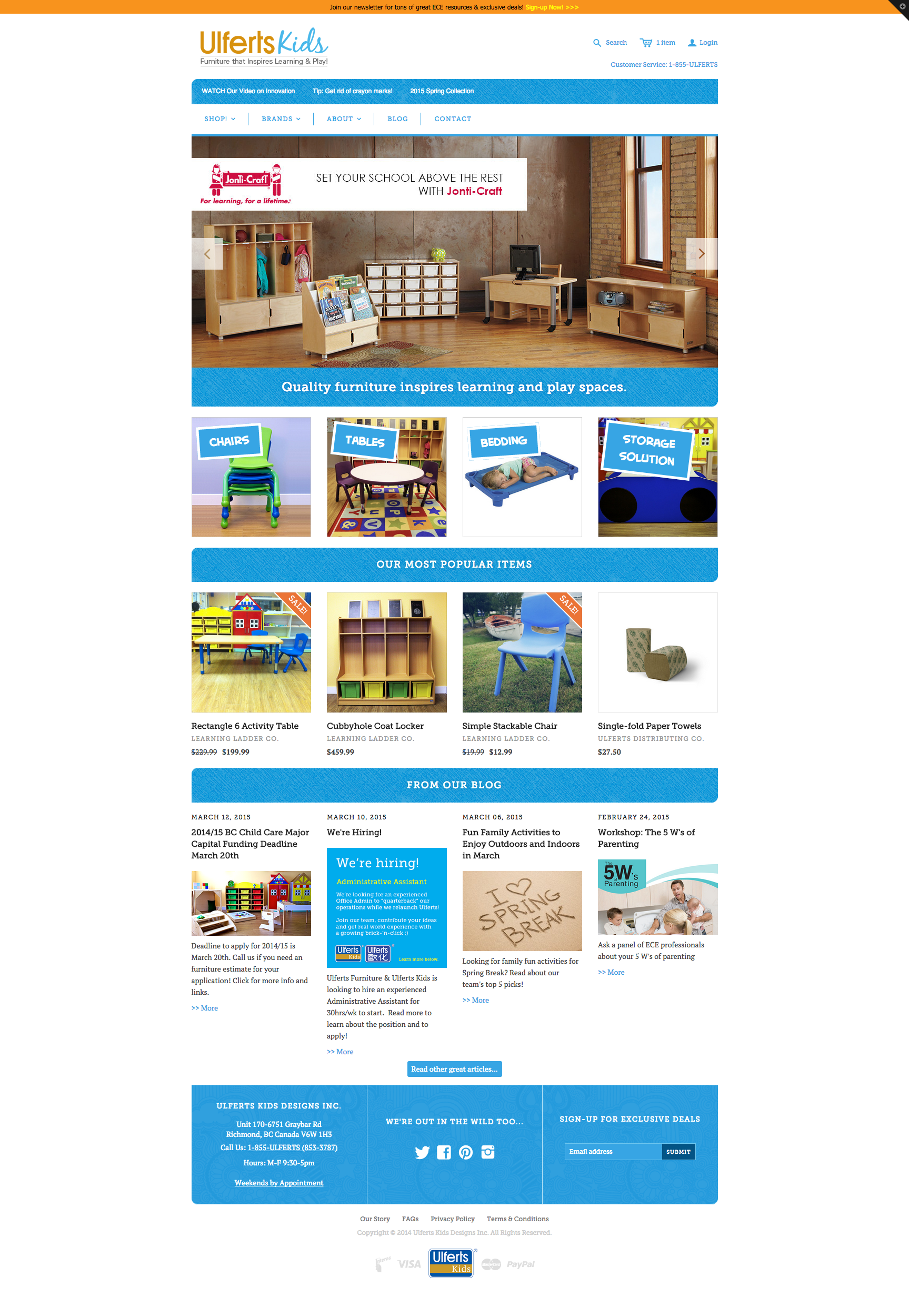 How to design a website for kids - This Is The Main Company Website That Made By Shopify And Theme Called Atlantic But Fully Customized To Fit The Company Needs All The Design Coding Work